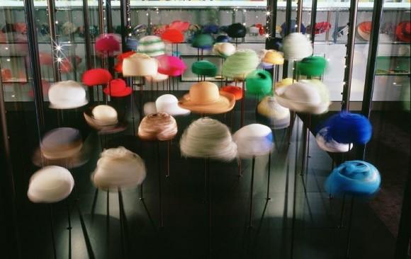 The Queen's Hats & Handbags Exhibition, </br> London