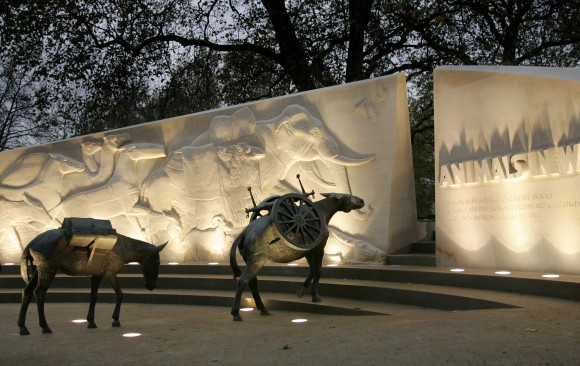 Animals in War Memorial, </br> London