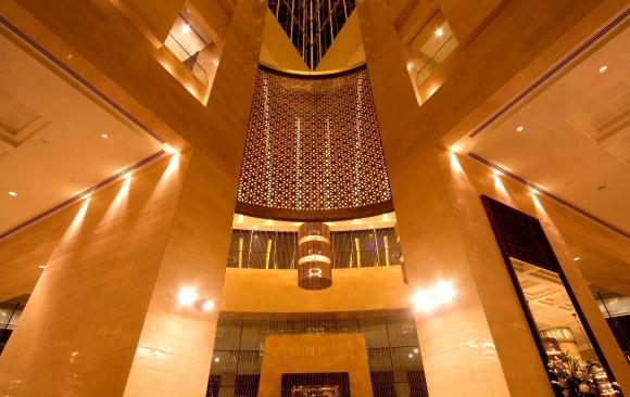 Raffles Hotel, Wafi City, </br> Dubai
