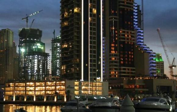 Iris Blue, Dubai Marina, </br> U.A.E