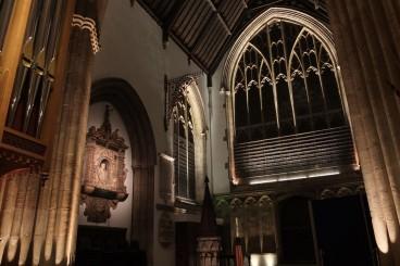Merton College Chapel, Ante Chapel Lighting