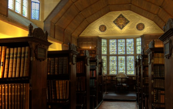 Merton College, Upper Library,</br> Oxford