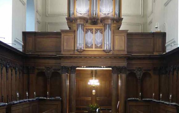 Pembroke College Chapel, </br> Cambridge
