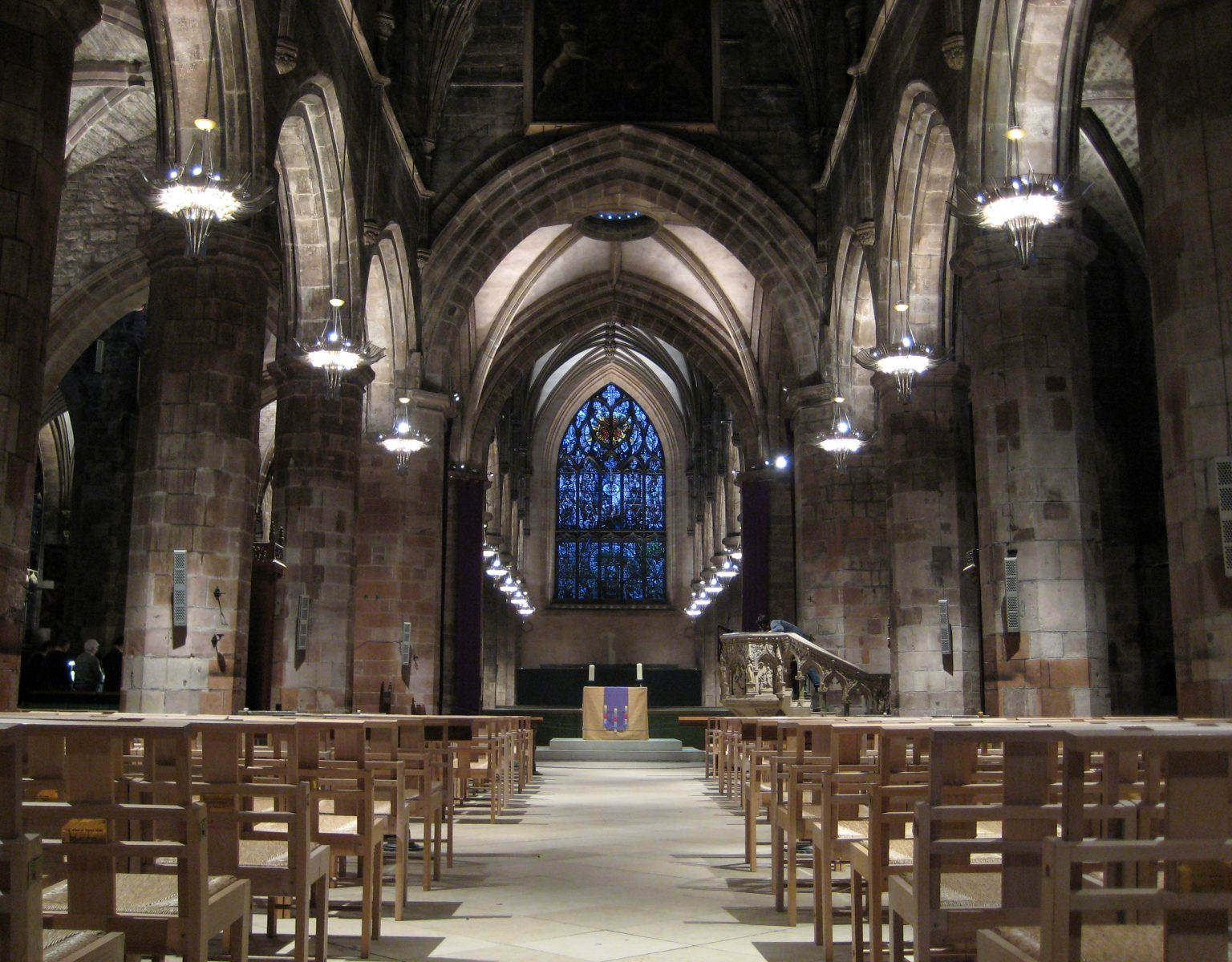 St Giles Cathedral Edinburgh Dpa Lighting Consultants