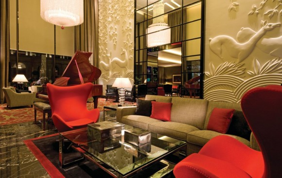 Four Seasons Hotel, </br> Park Lane, London