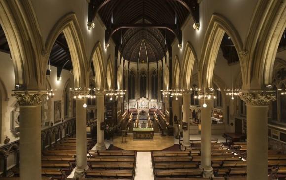 Harrow School Chapel, </br> Middlesex