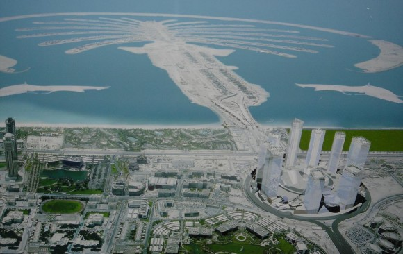 The Palm Jumeirah, </br> Dubai