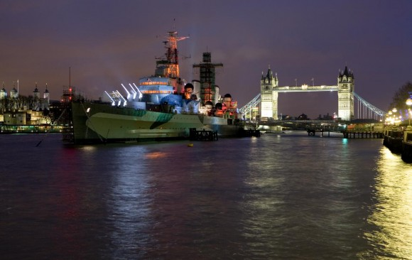 'Switched On London' 2007, HMS Belfast