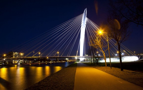Prins Claus Bridge, </br> Utrecht