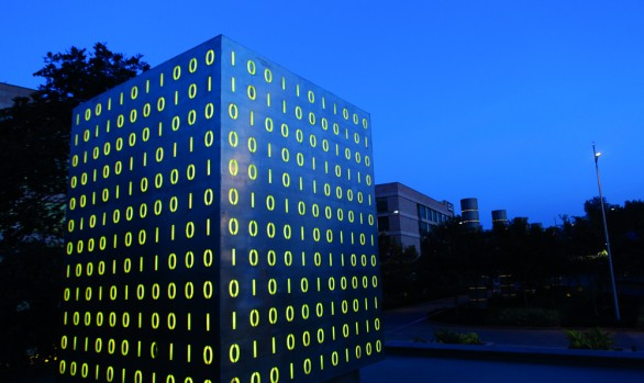 Binary Sculpture, Manyata Embassy Business Park, Bangalore, India