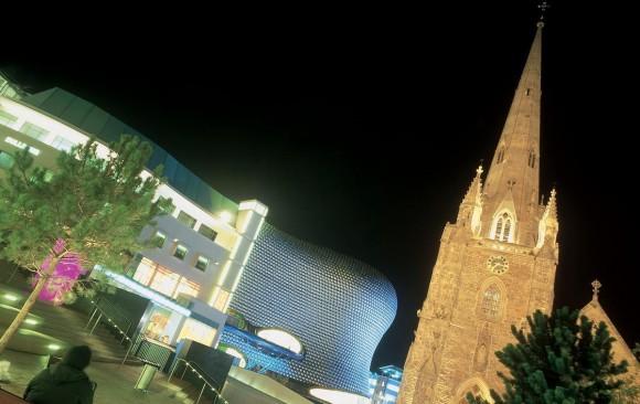 The Bullring, </br> Birmingham