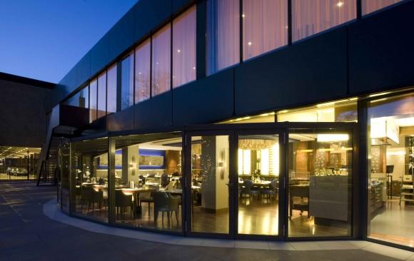 Serre Restaurant, </br> Okura Hotel, Amsterdam