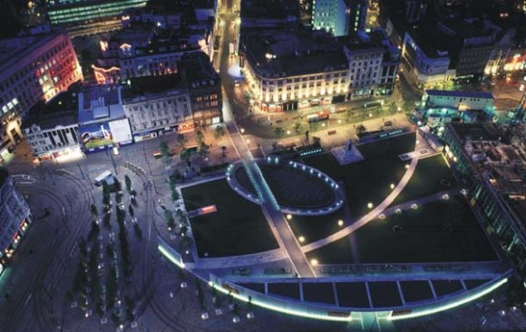 Piccadilly Square, </br> Manchester