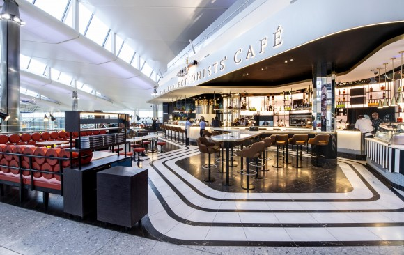 The Perfectionists' Café, </br> T2 London Heathrow Airport