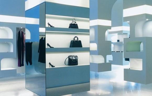 Alexander McQueen Store, </br> New York