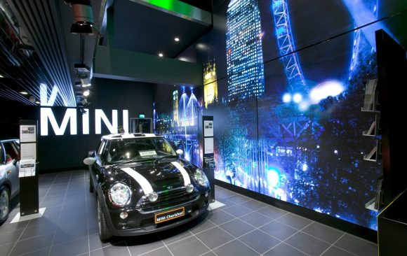 Flagship Mini Showroom, Park Lane, London