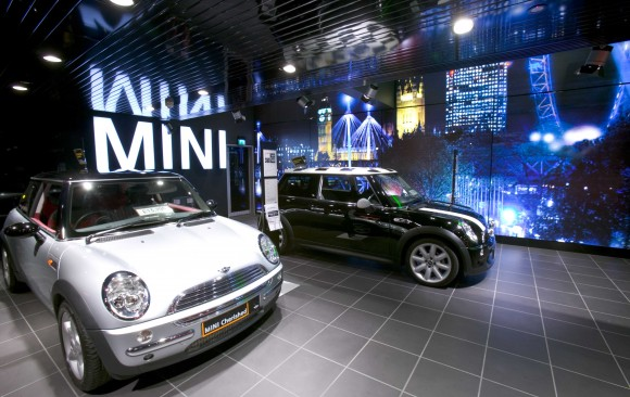 Flagship Mini Showroom, Park Lane </br> London