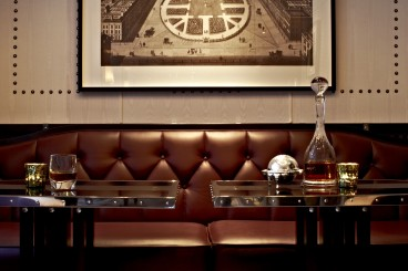 The Luggage Room at the Marriott Hotel, London