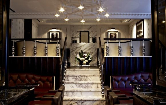 The Luggage Room at the Marriott Hotel, Grosvenor Square