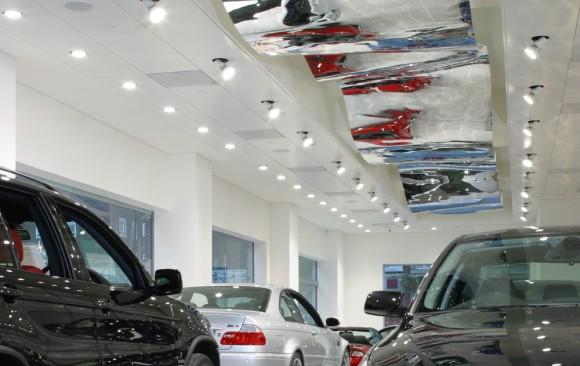 Car Showroom, Marsham Street, </br> London