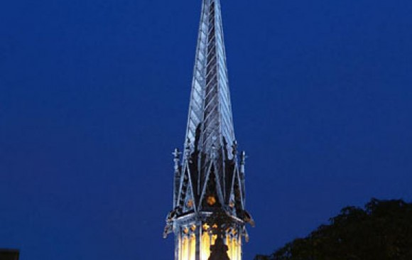Exeter College Spire, </br> Oxford