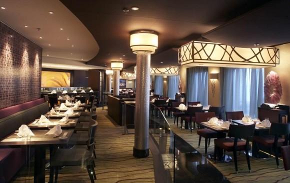 Silk Road Restaurant, </br> Crystal Symphony Cruise Ship
