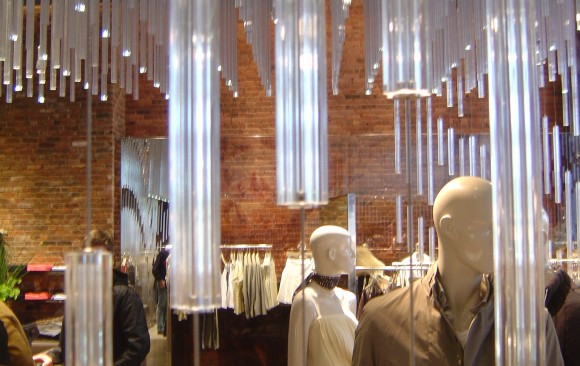 Reiss Store, </br> New York