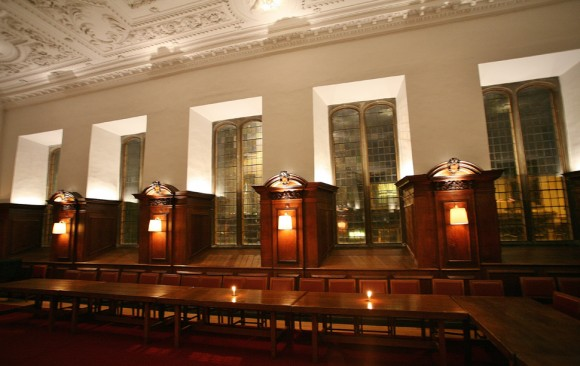 Pembroke College Old Library, </br> Cambridge