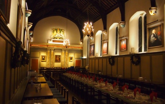Jesus College Dining Hall, Cambridge