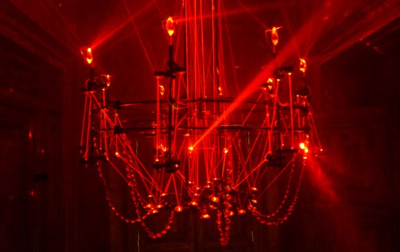 Implied Candelabra </br> LUMIERES: THE PLAY OF BRILLIANTS - PARIS