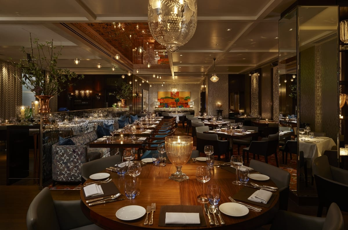 Chutney mary london dpa lighting consultants right for Best private dining rooms west end london