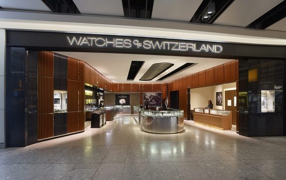 Watches of Switzerland, London Heathrow </br> Terminal 5 & Oxford Street, London