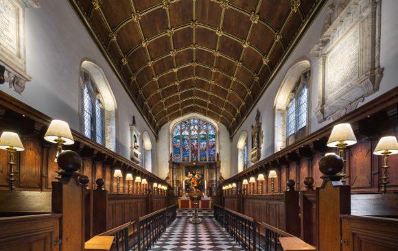 Corpus Christi Chapel, Oxford, UK