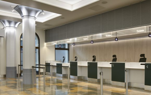 Great Western Ticket Office, </br> Paddington Station, London