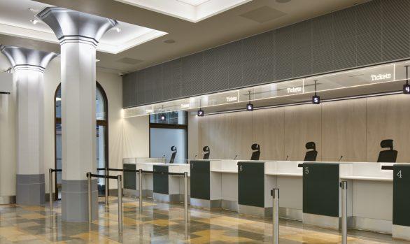 Great Western Ticket Office, </br> Paddington Station, London