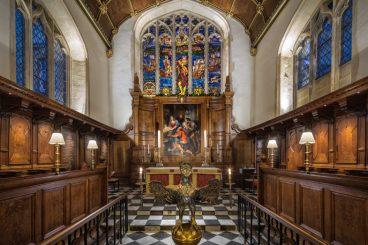 Corpus Christi College Chapel, </br> Oxford