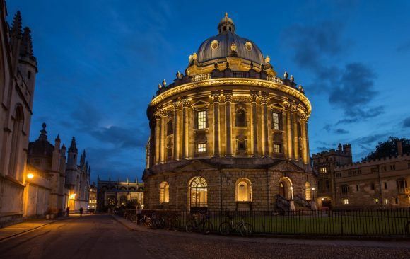 Night of Heritage Light - Radcliffe Camera, Oxford, UK