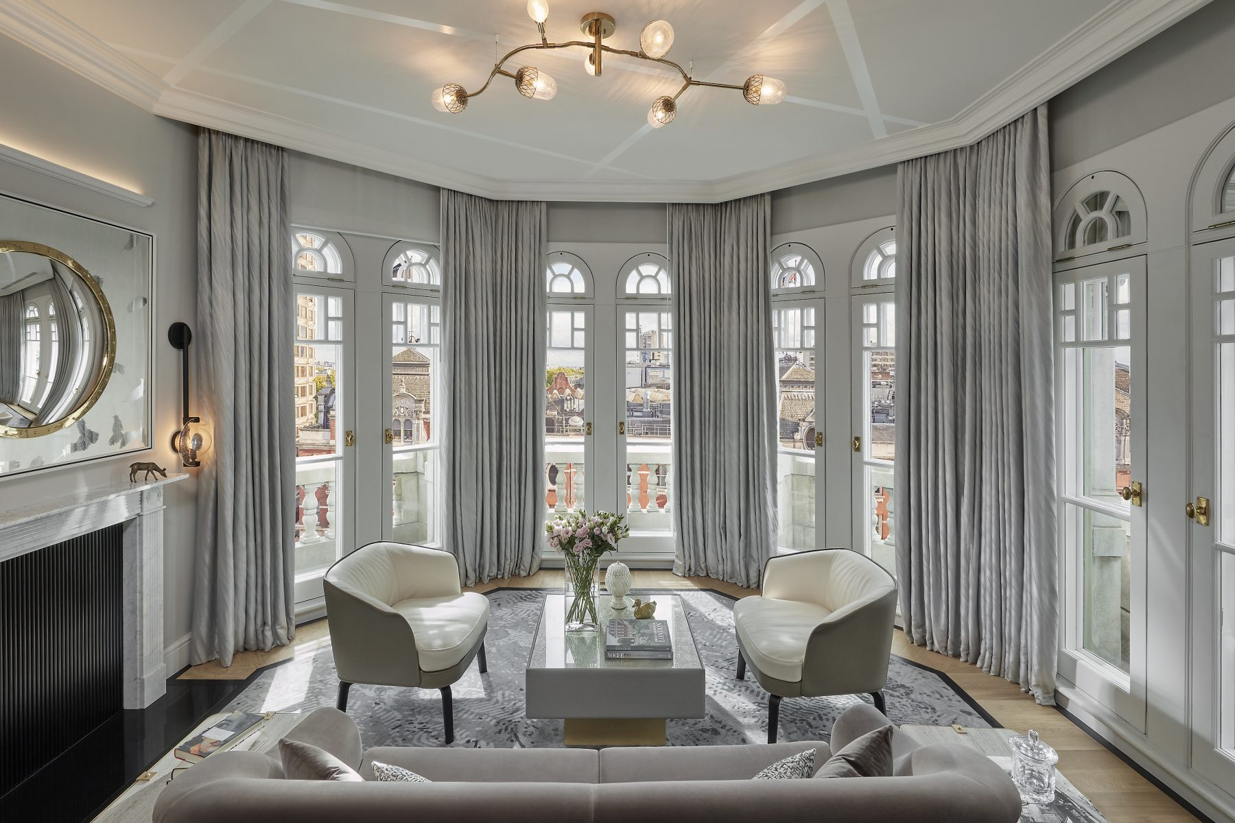 """london-2017-suite-turret-living-room-02 - dpa lighting consultants - """"Right  Light, Right Place, Right Time"""" ™"""
