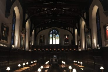 Magdalen College Oxford, Dining Hall